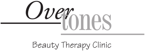 Overtones Text Logo with Tagline